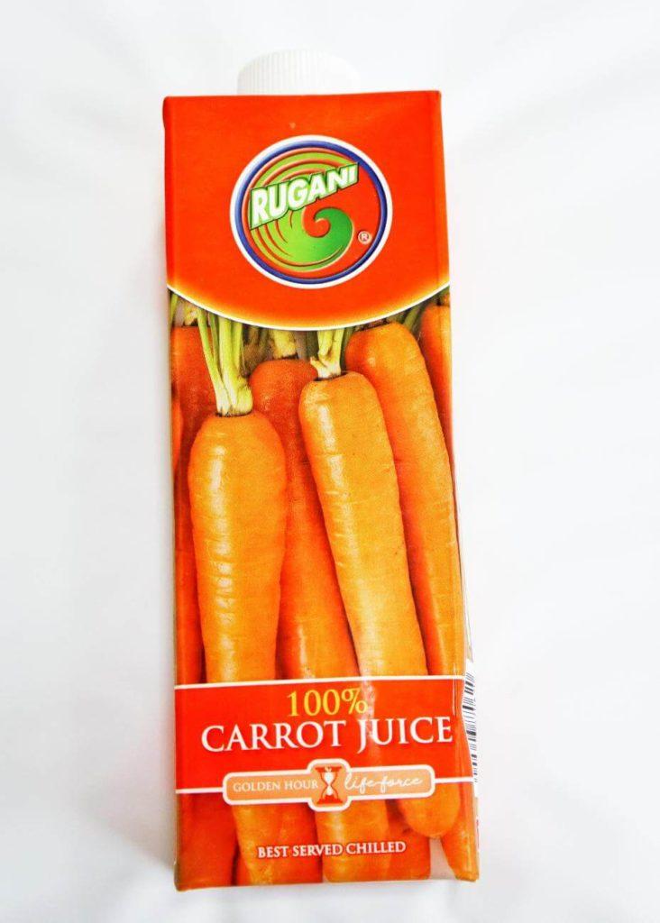 カルディで買ったルガーニの100%キャロットジュース