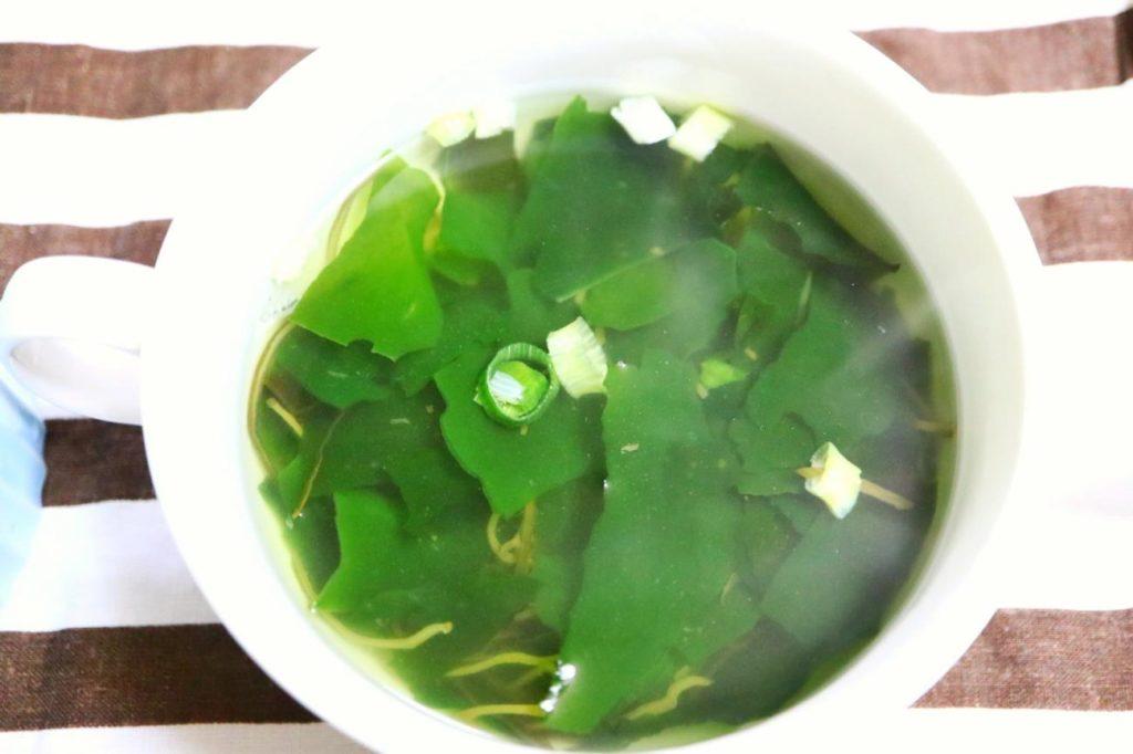 海藻トロっとスープ