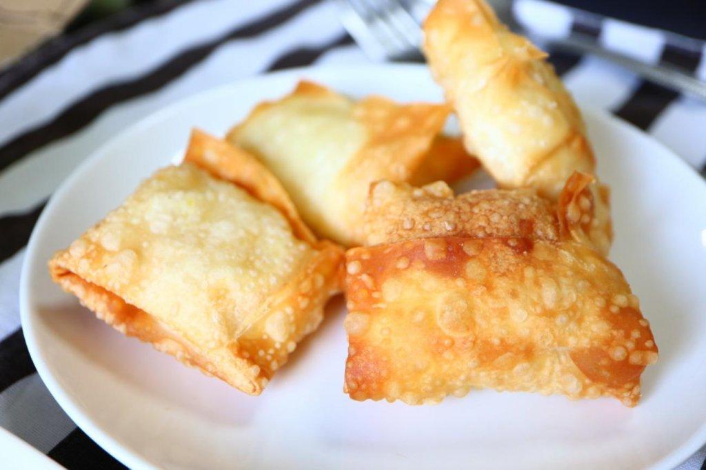 インスタントマッシュポテトで作ったサモサ