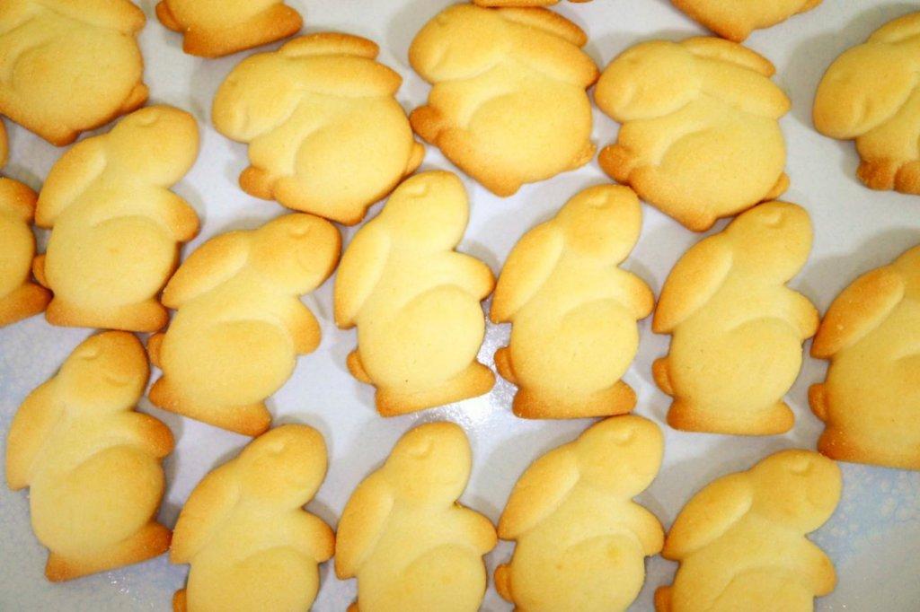 うさぎのミルククッキーの形一覧