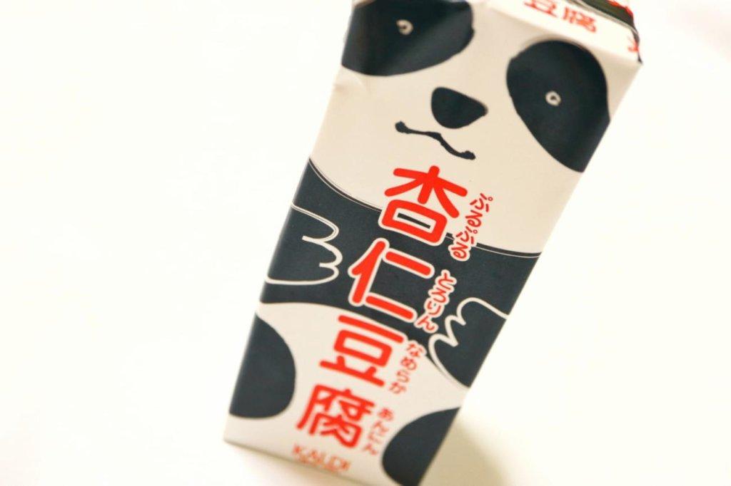 カルディで購入した、カルディオリジナルのパンダ杏仁豆腐