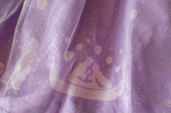 ディズニープリンセスドレスの裾