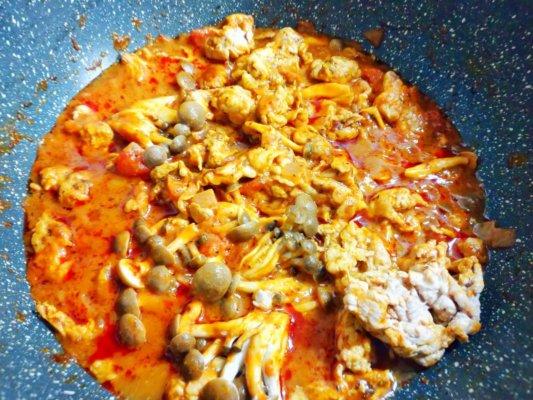 豚肉で作ったギータティッカマサラ
