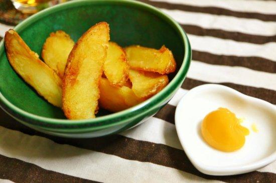 フライドポテトとせとうちレモンバター