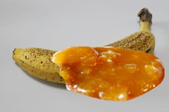 バナナとレモンマーマレード