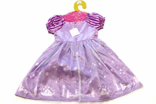 プリンセスドレスの背面