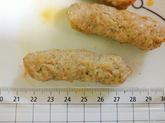 チキンリンクスの大きさ