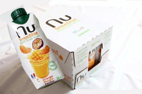 コストコで購入したNEMECO ヌースムージーオレンジマンゴー