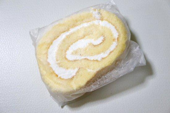 冷凍した米粉のスイスロール