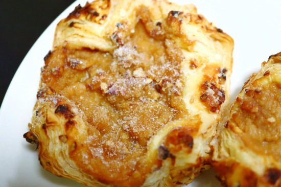 冷凍したアップルキャラメルデニッシュ