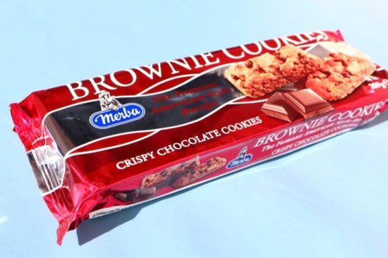 カルディで購入したメルバブラウニークッキー
