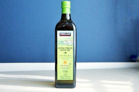 コストコで購入したカークランドシグネチャーのエクストラヴァージンオリーブオイル:シウラナ