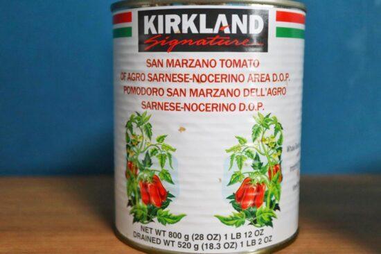サンマルツァーノトマト缶のパッケージ
