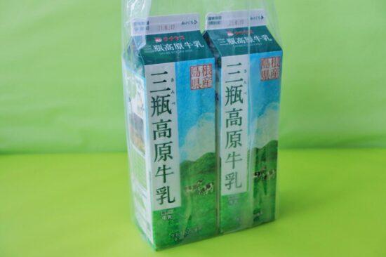 コストコで購入したチチヤス 三瓶高原牛乳