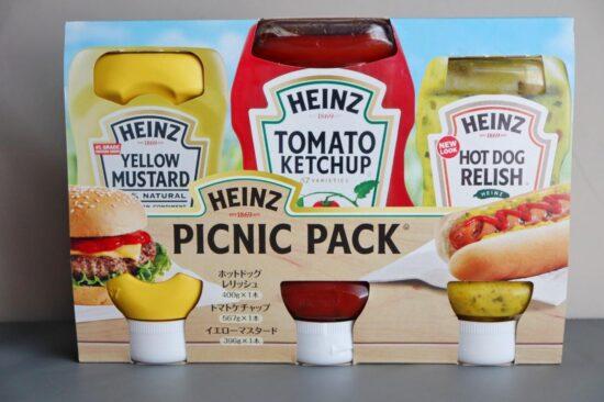 コストコで購入したハインツのピクニックパック