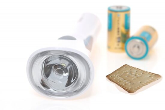 懐中電灯とプティブール